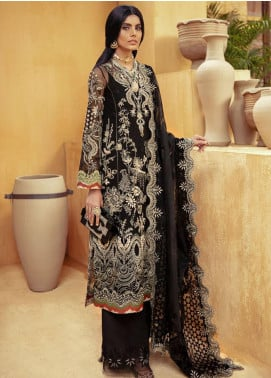 Freeshia by Suffuse Embroidered Organza Unstitched 3 Piece Suit FRS20WD Imperial Mystique - Wedding Collection