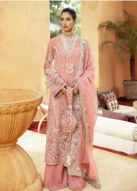 Freeshia by Suffuse Embroidered Organza Unstitched 3 Piece Suit FRS20WD Zen - Wedding Collection
