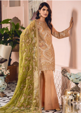 Freesia by Maryum N Maria Embroidered Missouri Unstitched 3 Piece Suit FMM19-C2 08 - Luxury Collection