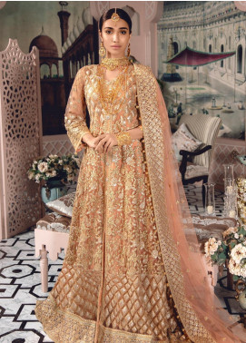 Freesia by Maryum N Maria Embroidered Net Unstitched 3 Piece Suit FMM19-C2 10 - Luxury Collection