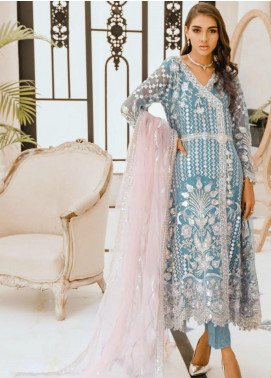 Freesia by Maryum N Maria Embroidered Chiffon Unstitched 3 Piece Suit FMM20PC 02 Mylisten - Premium Collection