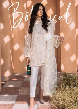 Freesia by Suffuse Embroidered Organza Stitched 3 Piece Suit FRS19O BOTANICAL