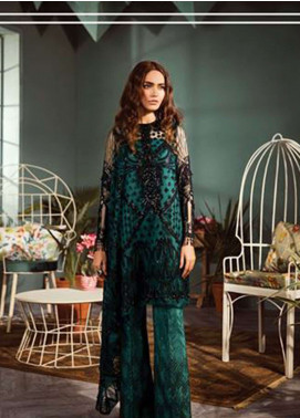 Freesia by Suffuse Embroidered Zari Net Unstitched 3 Piece Suit FRS19ZN 3 CYBELE - Luxury Collection