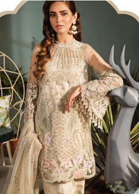 Freesia by Suffuse Embroidered Zari Net Unstitched 3 Piece Suit FRS19ZN 6 AVICE - Luxury Collection