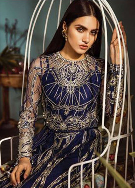 Freesia by Suffuse Embroidered Zari Net Unstitched 3 Piece Suit FRS19ZN 4 ARES - Luxury Collection