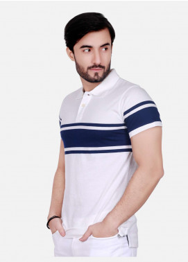 Furor Cotton Polo T-Shirts for Men - Off White FRM18PS 009