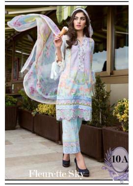 Farah Talib By LSM Embroidered Lawn Unstitched 3 Piece Suit FT17L 10A