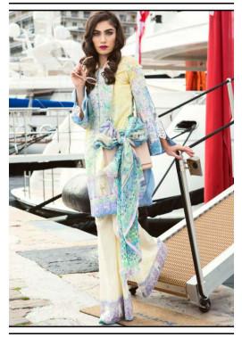 Farah Talib By LSM Embroidered Lawn Unstitched 3 Piece Suit FT17L 11A