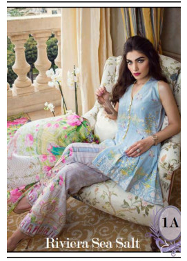 Farah Talib By LSM Embroidered Lawn Unstitched 3 Piece Suit FT17L 2A