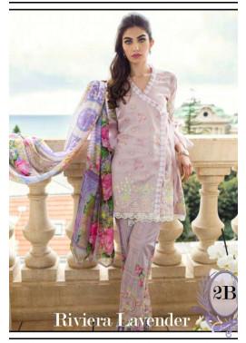Farah Talib By LSM Embroidered Lawn Unstitched 3 Piece Suit FT17L 2B