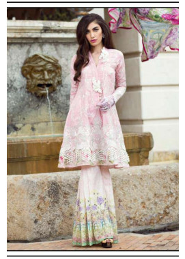 Farah Talib By LSM Embroidered Lawn Unstitched 3 Piece Suit FT17L 4A