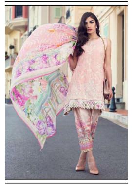 Farah Talib By LSM Embroidered Lawn Unstitched 3 Piece Suit FT17L 4B