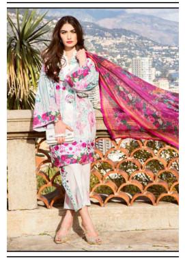 Farah Talib By LSM Embroidered Lawn Unstitched 3 Piece Suit FT17L 5B