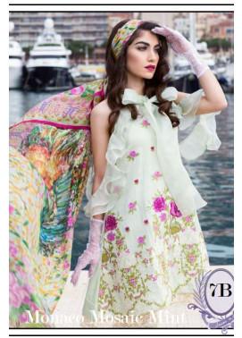 Farah Talib By LSM Embroidered Lawn Unstitched 3 Piece Suit FT17L 7B