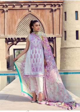 Farah Talib Embroidered Lawn Unstitched 3 Piece Suit FT18E 01 - Eid Collection