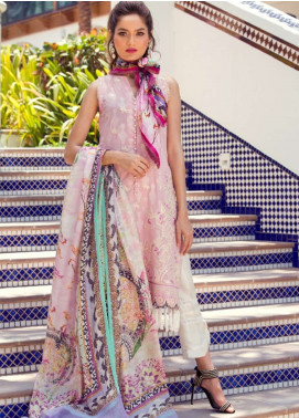 Farah Talib Embroidered Lawn Unstitched 3 Piece Suit FT18E 10 - Eid Collection