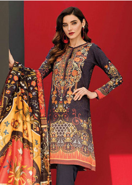 Fuchsia By Baroque Embroidered Linen Unstitched 3 Piece Suit FC18-L2 07 - Winter Collection