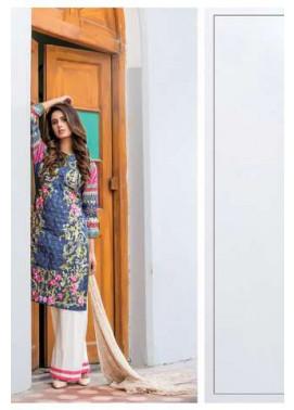 ZS Textile Embroidered Lawn Unstitched 3 Piece Suit FV17L 10