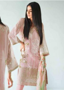 Gul Ahmed Embroidered Karandi Unstitched 3 Piece Suit GA18-E2 EA-35 - Eid Ul Azha Collection