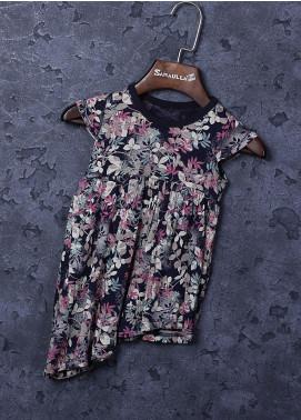 Sanaulla Exclusive Range Cotton Fancy Girls Frocks -  22825 Multi