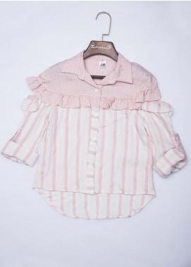 Sanaulla Exclusive Range Cotton Fancy Tops for Girls -  2035 Pink