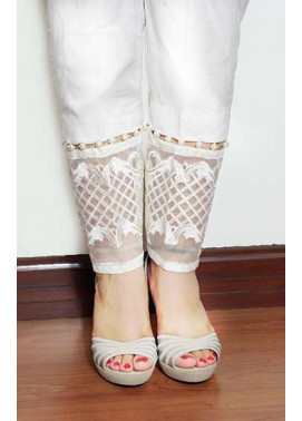 Gulaal Embroidered  Stitched Trouser GL16W GT02