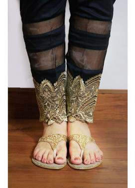Gulaal Embroidered  Stitched Trouser GL16W GT11