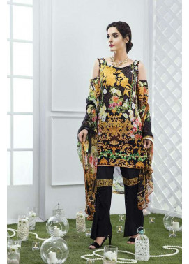 Gulaal Embroidered Lawn Unstitched 3 Piece Suit GL17M 04