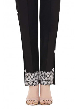 Gulaal Embroidered  Stitched Trouser GL17T 02