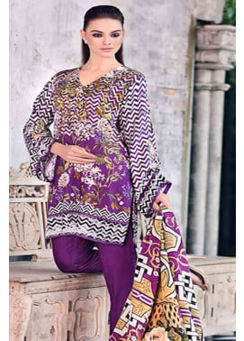 Gul Ahmed Printed Viscose Unstitched 3 Piece Suit GL17W2 SW32