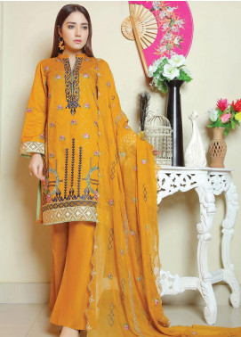 Glamza by Master Fabrics Embroidered Chikankari Lawn Unstitched 3 Piece Suit MF20G 20105 - Spring / Summer Collection