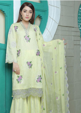 Glamza by Master Fabrics Embroidered Chikankari Lawn Unstitched 3 Piece Suit MF20G 20109 - Spring / Summer Collection