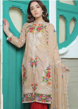 Glamza by Master Fabrics Embroidered Chikankari Lawn Unstitched 3 Piece Suit MF20G 20111 - Spring / Summer Collection
