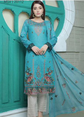 Glamza by Master Fabrics Embroidered Chikankari Lawn Unstitched 3 Piece Suit MF20G 20112 - Spring / Summer Collection