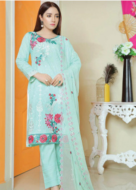 Glamza by Master Fabrics Embroidered Chikankari Lawn Unstitched 3 Piece Suit MF20G 20113 - Spring / Summer Collection