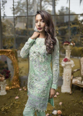Anahi by Gulaal Embroidered Khaadi Net Stitched 2 Piece Suit GLP17E 02