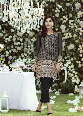 Anahi by Gulaal Embroidered Chiffon Stitched Kurtis GLP17K 4A