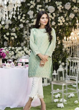 Anahi by Gulaal Embroidered Cotton Net Stitched Kurtis GLP17K 6A