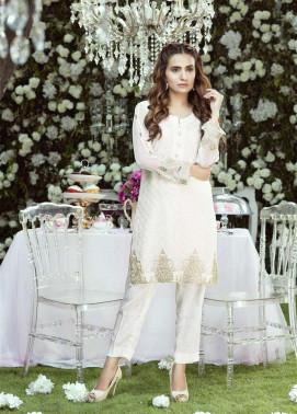 Anahi by Gulaal Embroidered Chiffon Stitched Kurtis GLP17K 7B
