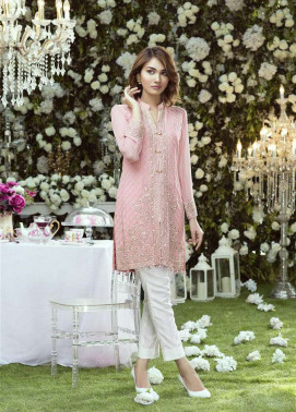 Anahi by Gulaal Embroidered Chiffon Stitched Kurtis GLP17K 8B