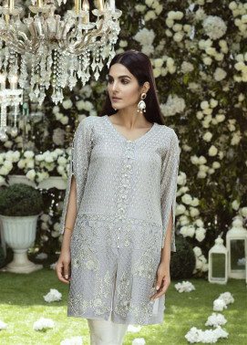 Anahi by Gulaal Embroidered Chiffon Stitched Kurtis GLP17K 9B