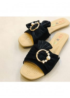 Grace Up Shoes Casual Style  Flat Shoes 0798 BLACK