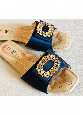 Grace Up Shoes Casual Style  Flat Shoes 0799 BLUE