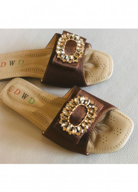 Grace Up Shoes Casual Style  Flat Shoes 0799 BROWN