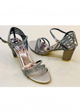 Grace Up Shoes Casual Style  Heel Shoes 970 GREY