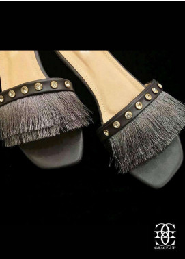 Grace Up Shoes Casual Style  Flat Shoes A111