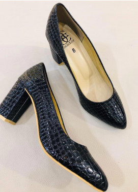 Grace Up Shoes Casual Style  Heel Shoes 0459 BLACK
