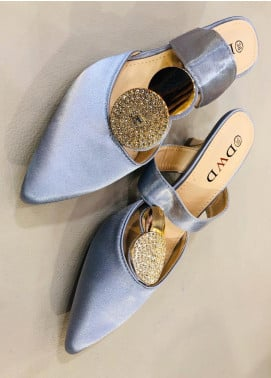 Grace Up Shoes Casual Style  Heel Shoes 594 GREY