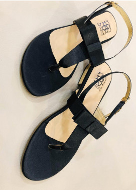 Grace Up Shoes Casual Style  Flat Shoes 661 BLACK