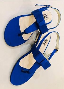 Grace Up Shoes Casual Style  Flat Shoes 661 Blue